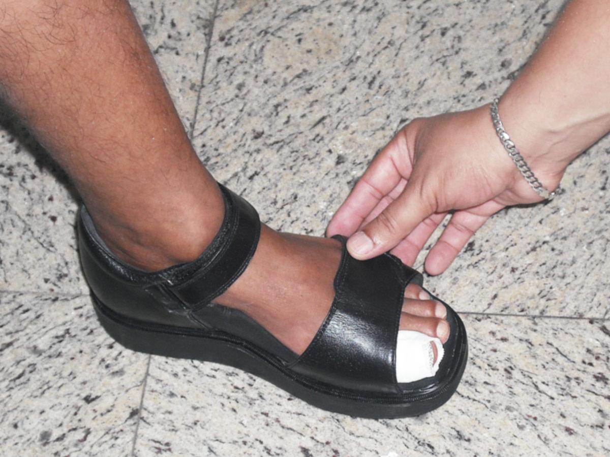 Confeccionamos Calçados Ortopedicos sob Medida